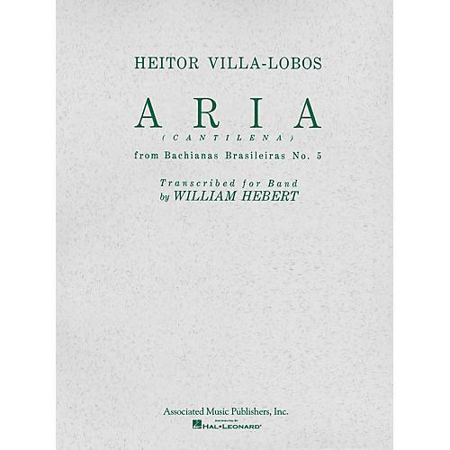 Associated Aria (Cantilena) from Bachianas Brasilieras No. 5 (Full Score) Concert Band by Heitor Villa-Lobos