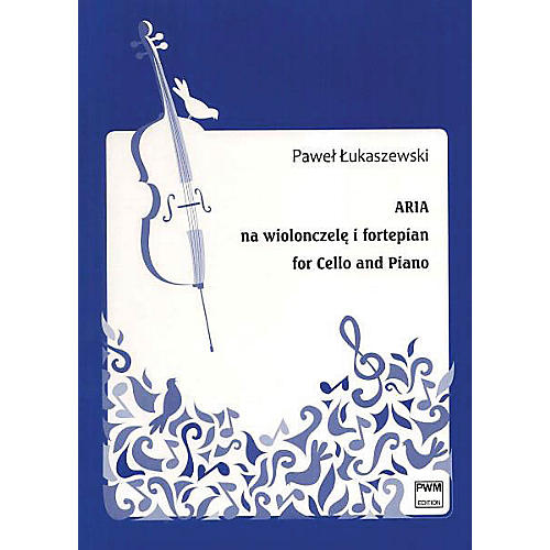 PWM Aria for Cello and Piano (Aria na wiolonszele i fortepian) PWM Series Softcover-thumbnail
