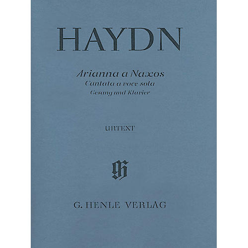 G. Henle Verlag Arianna a Naxos, Cantata for Voice and Piano Hob.XXVIb:2 Henle Music Softcover by Haydn Edited by Helms-thumbnail