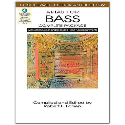 Hal Leonard Arias For Bass - Complete Package with Book, Diction Coach and Accompaniment CDs-thumbnail