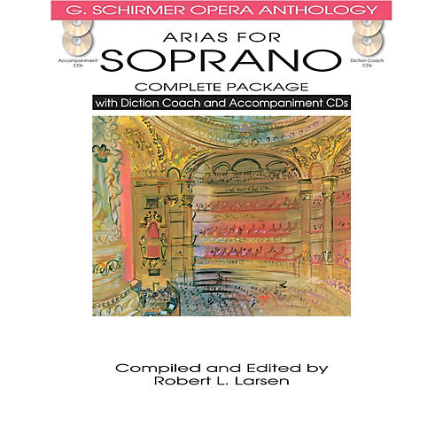 Hal Leonard Arias For Soprano - Complete Package  with Book, Diction Coach and Accompaniment CDs
