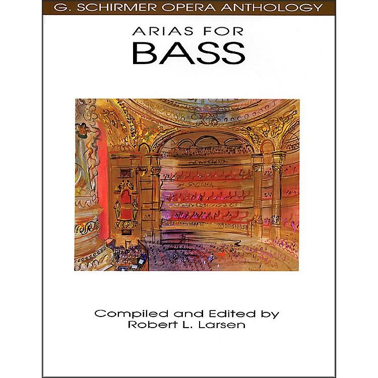 G. SchirmerArias for Bass G Schirmer Opera Anthology