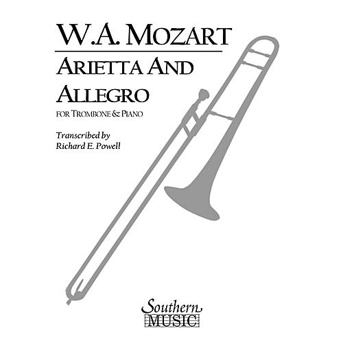 Southern Arietta and Allegro, K109b/8 K3 Southern Music Composed by Mozart Arranged by Richard Powell-thumbnail