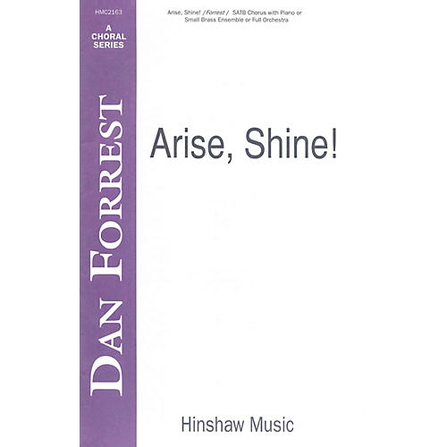 Hinshaw Music Arise, Shine SATB composed by Dan Forrest-thumbnail