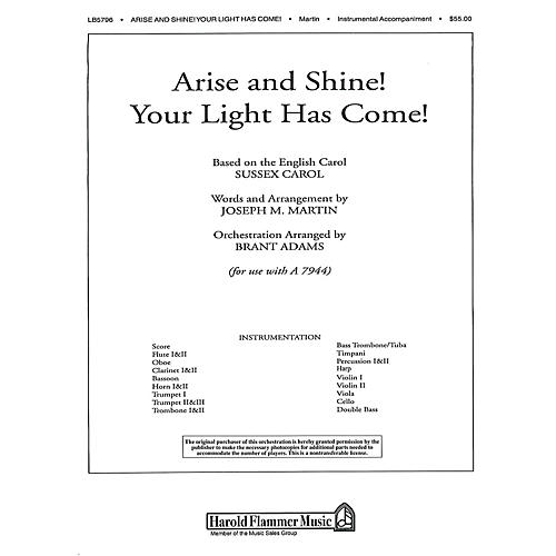 Shawnee Press Arise and Shine! Your Light Has Come! (from Journey of Promises) Score & Parts arranged by Brant Adams-thumbnail