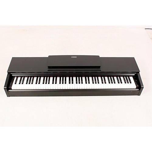 open box yamaha arius ydp 143 88 key digital console piano. Black Bedroom Furniture Sets. Home Design Ideas