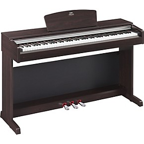 yamaha arius ydp135r 88 key digital piano with bench musician 39 s friend. Black Bedroom Furniture Sets. Home Design Ideas