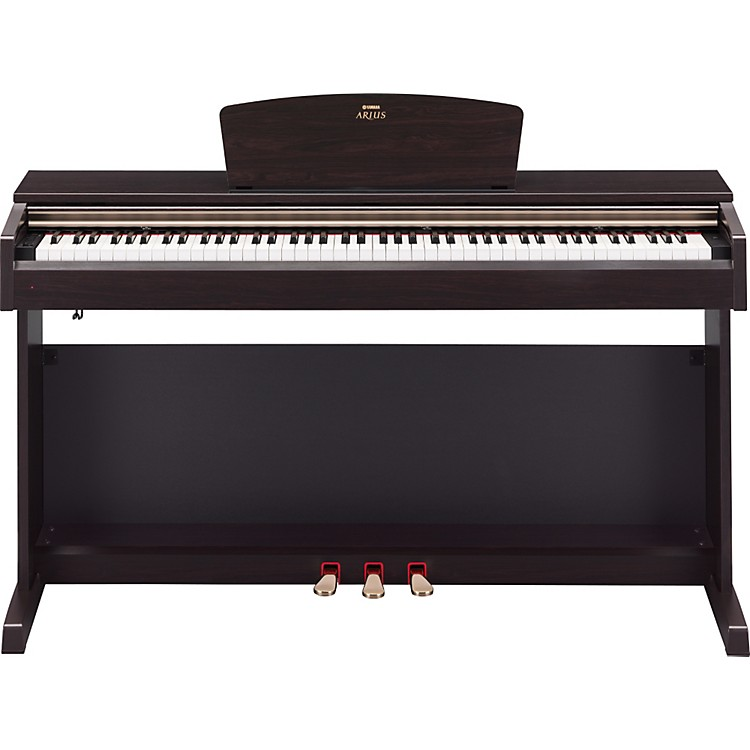 Yamaha Arius YDP161 88-Key Digital Piano with Bench - Rosewood Finish