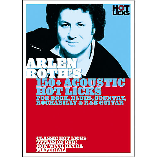 Hot Licks Arlen Roth: 150+ Acoustic Hot Licks DVD