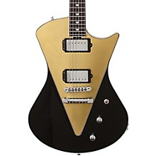 Ernie Ball Music Man Armada Electric Guitar Level 1 Black/Gold Rosewood