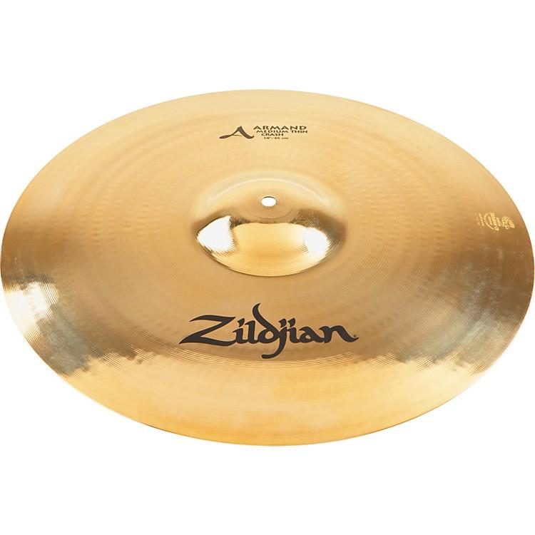 ZildjianArmand Medium Thin Crash Cymbal Brilliant