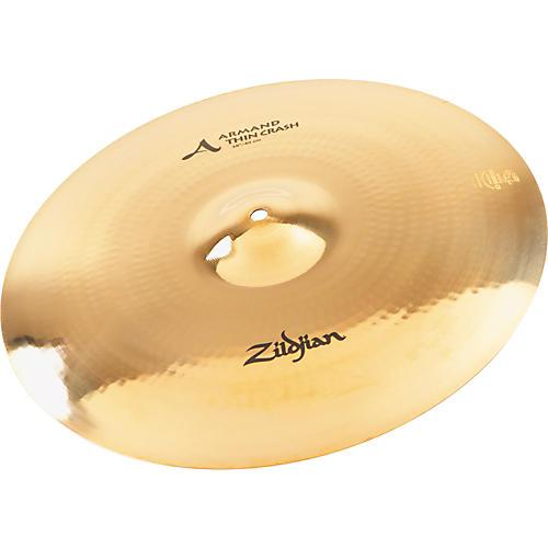 Zildjian Armand Thin Crash Cymbal Brillliant