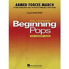 Hal Leonard Armed Forces March Concert Band Level 1 Arranged by Michael Sweeney