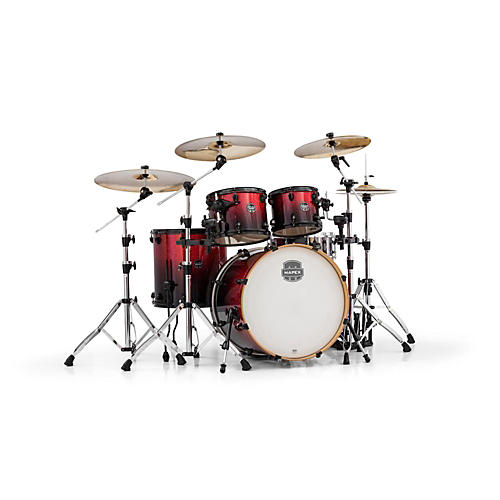 Mapex Armory Series 5-Piece Rock Shell Pack Magna Red