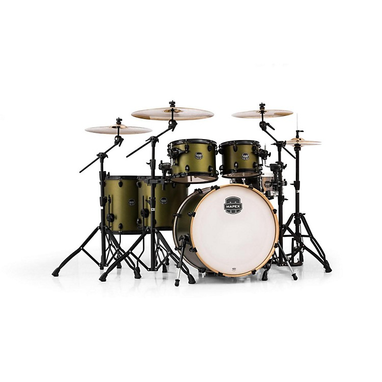 Mapex Armory Series 6-Piece Studioease Shell Pack Mantis Green