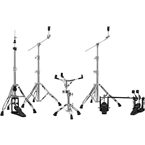 Mapex Armory Series HP8005-DP 5-Piece Hardware Pack with Double Pedal Chrome