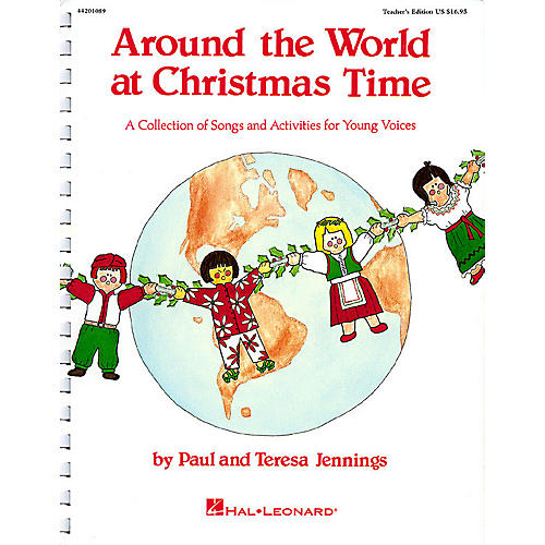 Hal Leonard Around the World at Christmas Time (Musical) TEACHER ED Composed by Teresa Jennings-thumbnail
