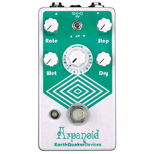 EarthQuaker Devices Arpanoid Polyphonic Pitch Arpeggiator Guitar Effects Pedal-thumbnail