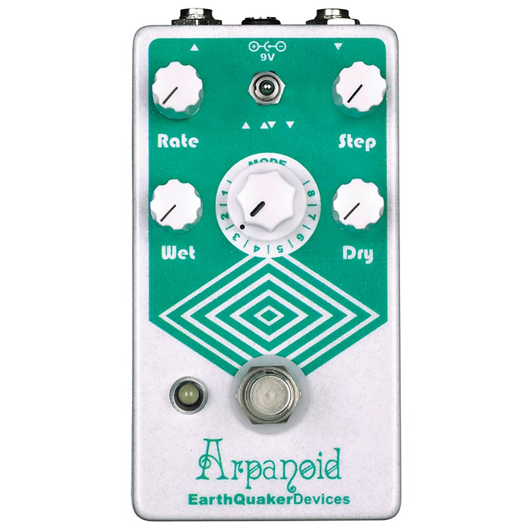 EarthQuaker DevicesArpanoid Polyphonic Pitch Arpeggiator Guitar Effects Pedal