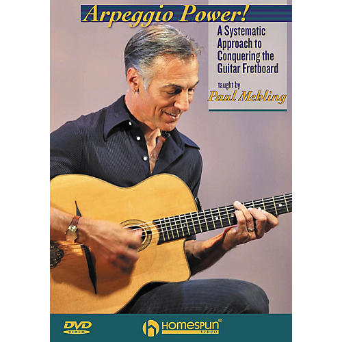 Homespun Arpeggio Power! Homespun Tapes Series DVD Written by Paul Mehling-thumbnail