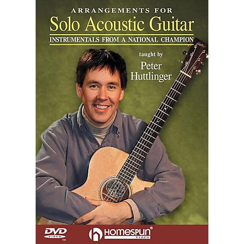 Homespun Arrangements for Solo Acoustic Guitar (DVD)
