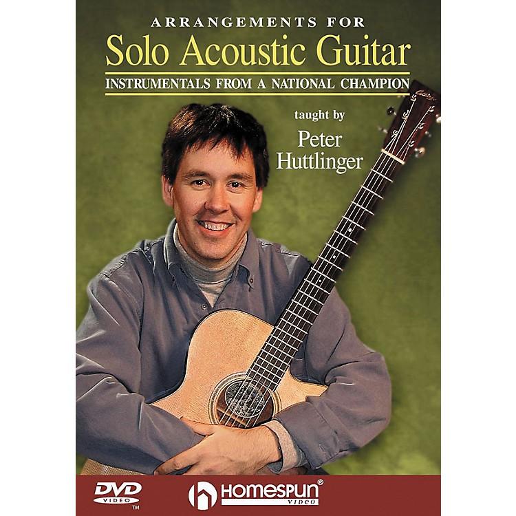 HomespunArrangements for Solo Acoustic Guitar (DVD)