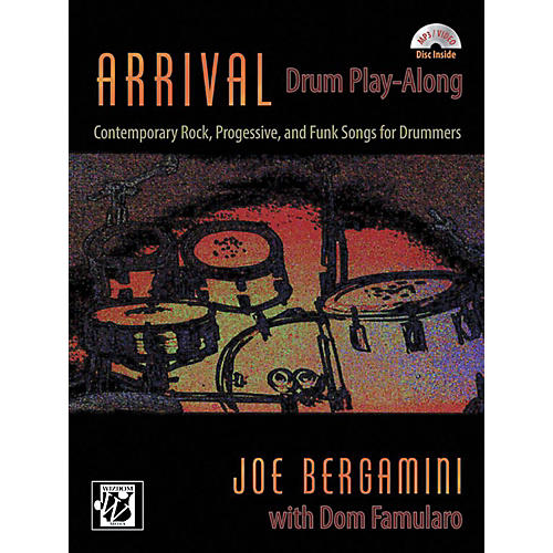 Alfred Arrival: Drum Play-Along Book & CD-thumbnail