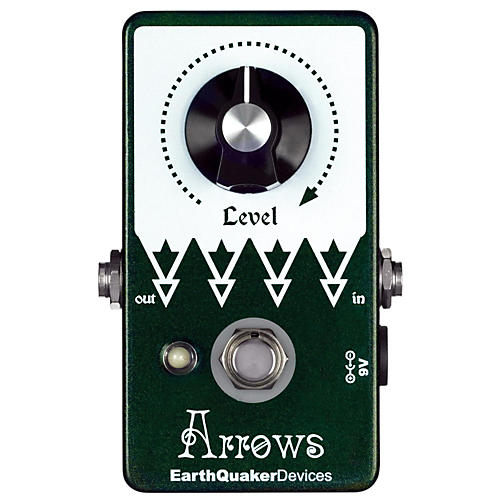 EarthQuaker Devices Arrows Preamp Booster Guitar Effects Pedal-thumbnail