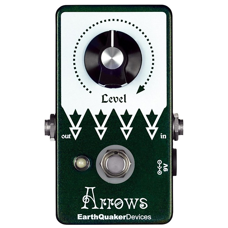 EarthQuaker DevicesArrows Preamp Booster Guitar Effects Pedal