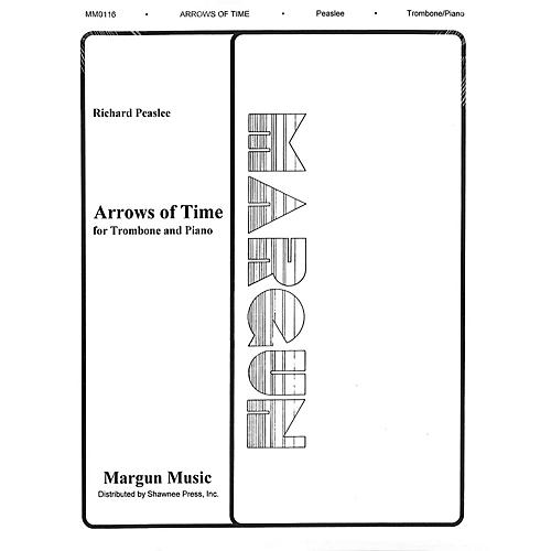 Margun Music Arrows of Time (for Trombone and Piano) Shawnee Press Series-thumbnail