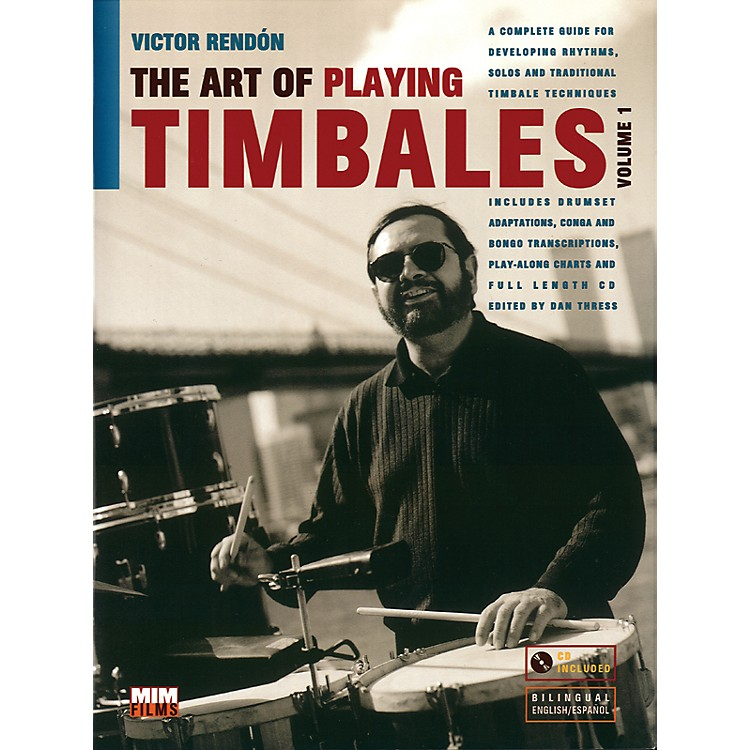 Alfred Art Of Playing Timbales 1 - Victor Rendon (Book/CD)