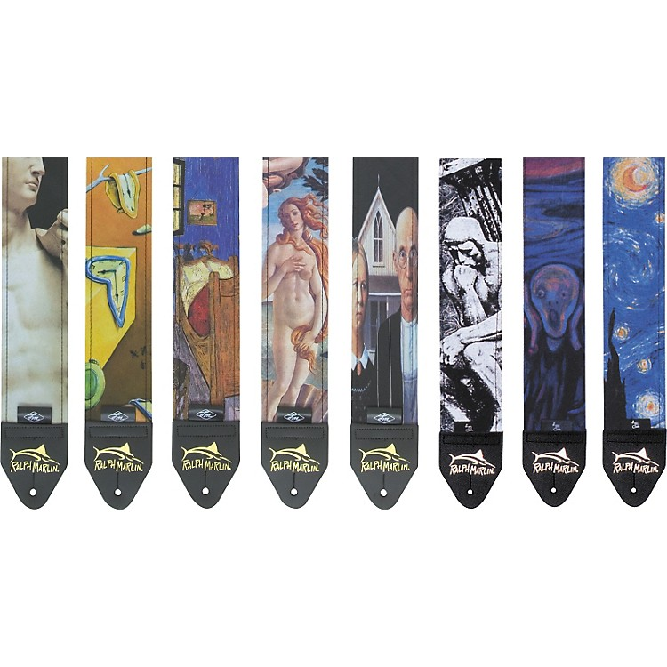 Ralph Marlin Art Series Guitar Strap Birth of Venus