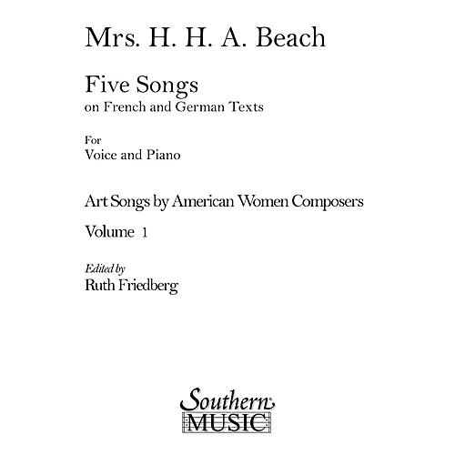 Southern Art Songs by American Women Composers Southern Music  by Amy Beach Edited by Ruth C. Friedberg-thumbnail