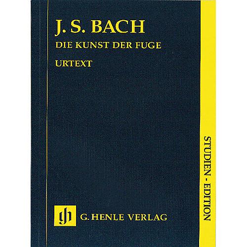 G. Henle Verlag Art of the Fugue BWV 1080 (Study Score) Henle Study Scores Series Softcover