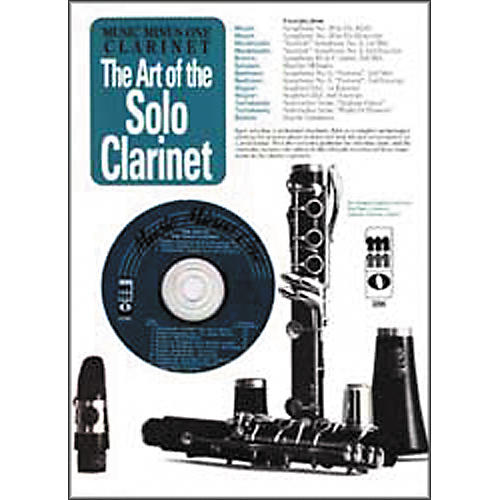 Hal Leonard Art of the Solo Clarinet: Orchestral Excerpts