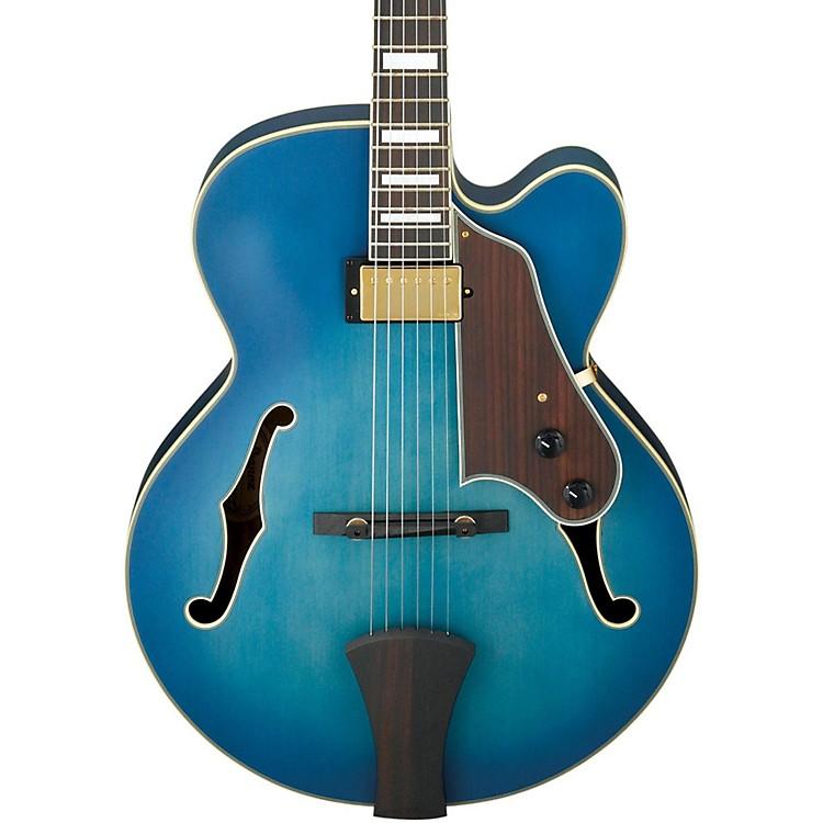 IbanezArtcore Expressionist AFJ91 Hollowbody Electric GuitarJet Blue Burst FlatRosewood Fretboard
