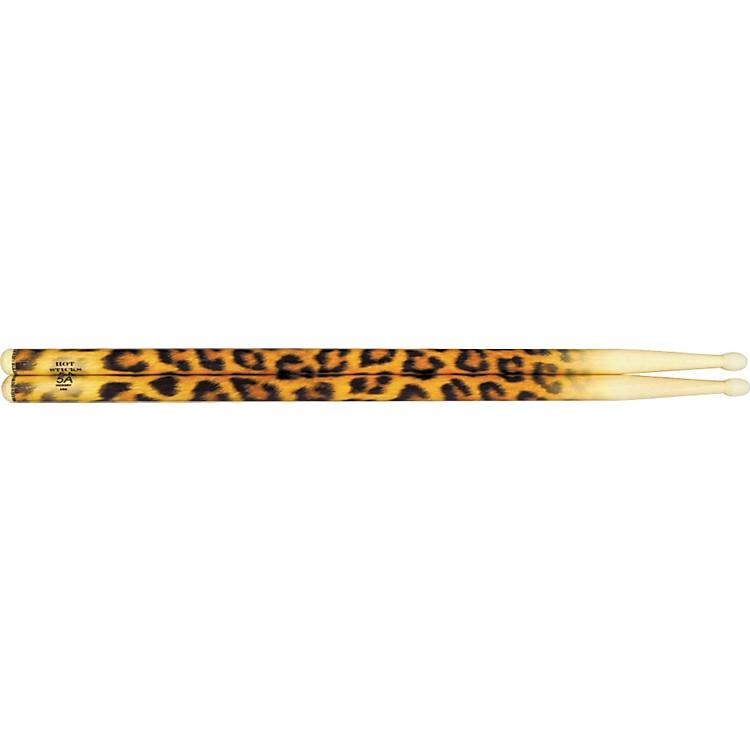 Hot SticksArtiSticks Nylon Tip DrumsticksRed Flame5A
