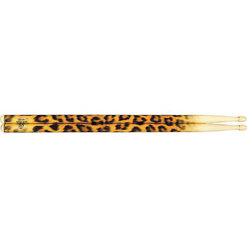 Hot Sticks ArtiSticks Wood Tip Drumsticks Leopard 5A