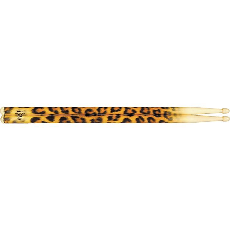 Hot SticksArtiSticks Wood Tip DrumsticksLeopard5A