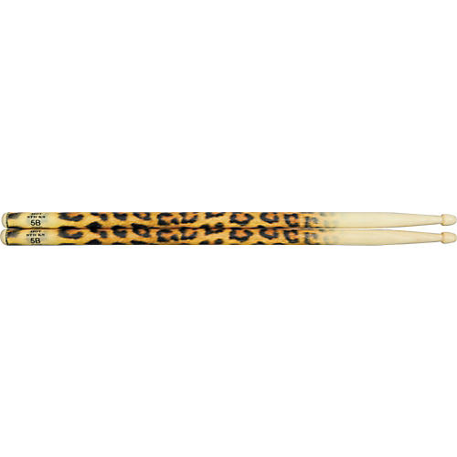 Hot Sticks ArtiSticks Wood Tip Drumsticks Leopard 5B