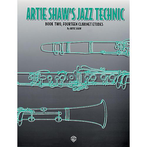 Alfred Artie Shaw's Jazz Technic Clarinet Book 2