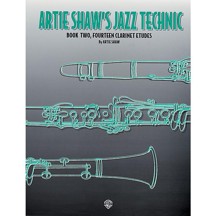 AlfredArtie Shaw's Jazz Technic Clarinet Book 2