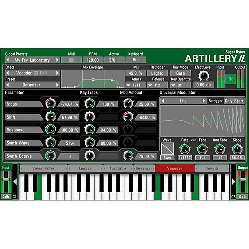 SUGAR BYTES Artillery II Software Download