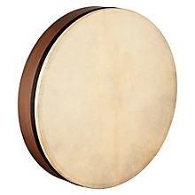 Meinl Artisan Edition Goatskin Head Mizhar Walnut Brown 22 in.