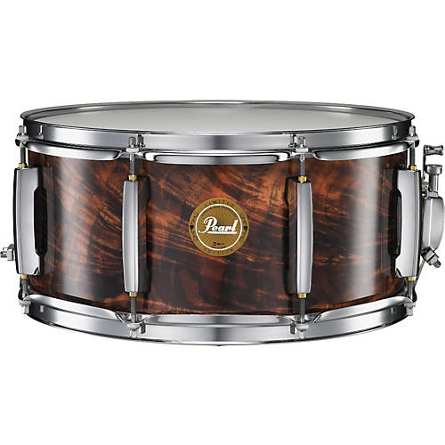 Pearl Artisan II Feathered Walnut Snare Drum - Limited Edition