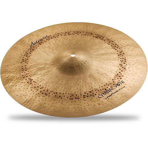 Sabian Artisan Series 3 Point Crash Cymbal-thumbnail