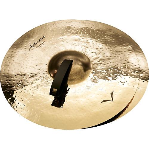 Sabian Artisan Traditional Symphonic Extra Dark Medium Crash - Brilliant 18 in.