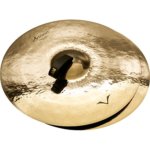 Sabian Artisan Traditional Symphonic Extra Dark Medium Crash - Brilliant 20 in.-thumbnail