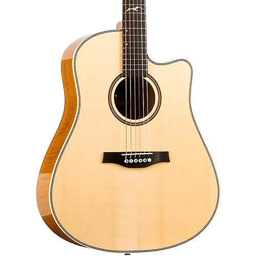 Seagull Artist Cameo CW Element Spruce Top Acoustic Electric Guitar Natural