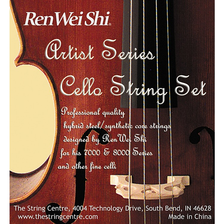 Ren Wei Shi Artist Cello String Set 4/4 size set